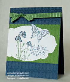 Serene Silhouettes, Sassy Salutations & Papillion Potpourri Stamp Sets by Stampin' Up!