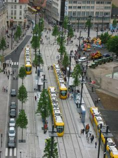 Tram Station, Mulhouse, France.