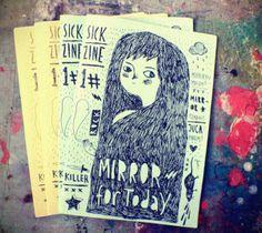 Sick Zine 1# by Yujin Sick, via Behance