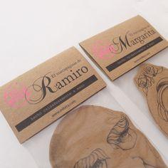 Marcapáginas Ramiro y Margarita.  miteta