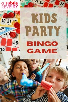 Kids party bingo game which the kids will surely love, this bingo game is not an extraordinary one, it is challenging and offers a lot of excitement and challenges. Sharing you this pin for a fantastic bingo game party for kids! #kidsbingo #kidsbingogame #kidsparty #kidspartygame #bingo #bingogame Diy Party Hats, Game Party, Party Hacks, Party Ideas, Funky Hats, Balloon Backdrop, Colourful Balloons, It Goes On, For Your Party