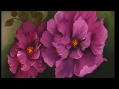 "The Beauty of Oil Painting, Series 1, Episode 17, "" Rose Garden "" - YouTube"