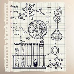 49636082-Hand-drawn-science-beautiful-vintage-lab-icons-sketch-set-Vector-illustration-Back-to-School-Doodle--Stock-Vector.jpg (1300×1300)