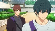 : Dive to the Future - In the new series, Haruka, who is attending college in Tokyo, meets Asahi again and reawakens his memories from his middle school years, including those of Ikuya. Splash Free, Free Eternal Summer, Makoharu, Free Iwatobi Swim Club, Kyoto Animation, Free Anime, Anime Screenshots, Pictures, Sloth