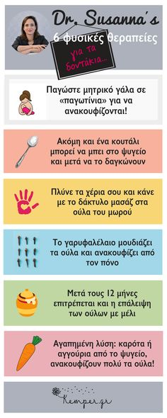 ΦΥΣΙΚΕΣ ΘΕΡΑΠΕΙΕΣ ΓΙΑ ΤΑ ΔΟΝΤΑΚΙΑ Kids Health, Health Tips, Kids And Parenting, Parenting Hacks, Baby Calm, New Mummy, Baby Vest, All Kids, Kids Corner