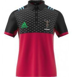 e0b018771c098 Adidas Harlequins Performance Polo Shirt 2017-18. Fenton Sports Online Rugby