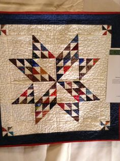 I'm hoping I'm not boring you with more quilts. However, in my opinion all quilters enjoy seeing beautiful quilts. Small Quilts, Mini Quilts, Miniature Quilts, Half Square Triangles, Doll Quilt, Table Toppers, Quilting Projects, Stitching, Applique
