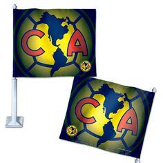 Club America Car Flag