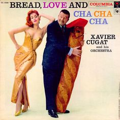 Xavier Cugat - Coco Seco 1957. Great artist, but what is he holding?