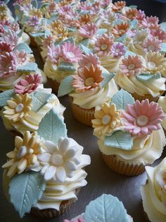 Pretty Pastel Flowers by obliviousfire, via Flickr