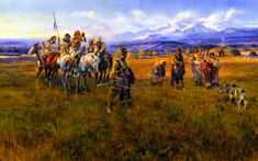 Charles Marion Russell  http://www.the-athenaeum.org/art/display_image.php?id=96057