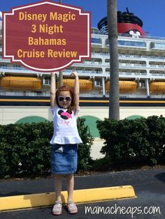 Disney Cruise Lines Review – Magic 3-Night Bahamas from Port Canaveral (with a Kid and a Baby!)