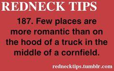 Redneck tip