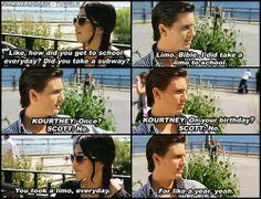 Kourtney Kardashian and Scott Disick. #KUWTK