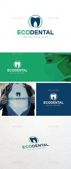 Eco Dental logo Template - Logo Templates