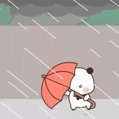 Cute Bunny Cartoon, Cute Cartoon Characters, Cute Cartoon Pictures, Cute Love Cartoons, Cartoon Gifs, Cute Cartoon Wallpapers, Rain Cartoon, Cute Small Drawings, Cute Bear Drawings