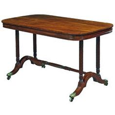 Good Quality Regency Mahogany Centre or Library Table Table Furniture, Cool Furniture, Modern Furniture, Table Centers, Center Table, Vintage Table, Vintage Home Decor, Drum Table, Dining Table