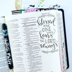 Bible Journaling by @elli.s_heart More