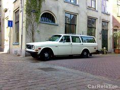 Volvo 145 1971 - color white - LPG / GPL - Import United States (1999) #volvo #classiccar #carrelation