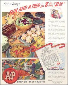 A & P SUPERMARKETS - SATURDAY EVENING POST 10/06/1945 - p. 101