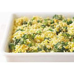 Broccoli, Cheese, and Rice