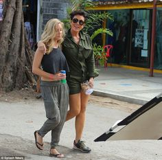 Kardashian Khief: Kris strolls with her daughter-in-law Leah Jenner, wife of Bruce's son B...