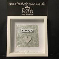 Www.facebook.com/treat4u   For all your personalised frames and plaques xx