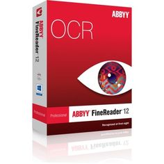 """Abbyy Finereader V.12.0 Professional Edition – Ocr Utility Box – Cd-Rom """"Product Category: Software Products/Software"""""""