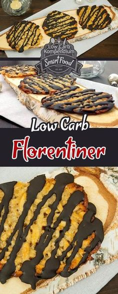 Mit wenig Kohlenhydrate und ohne Mehl backen The Florentines are a fine low carb pastry that you can not only enjoy for Christmas. Perfect for great back sessions without flour :] Low Calorie Desserts, Low Calorie Recipes, Healthy Desserts, Easy Desserts, Dessert Simple, Cookies Healthy, Patisserie Fine, Law Carb, Paleo Dessert