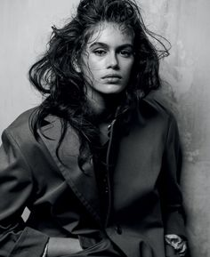 Interview Magazine March 2018 Kaia Gerber by Peter Lindbergh