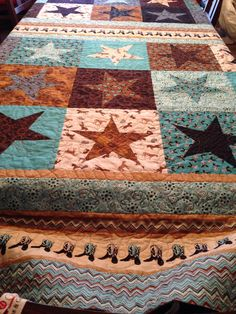 Cowboy Quilted Throw Boys Will Love This Horse and Cowboy 50x60 ... : cowboy quilt pattern - Adamdwight.com