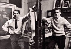 Robert Colquhoun (1914-62) and Robert MacBryde (1913-66), both from Scottish working-class families, met in 1932 when they were students at the Glasgow School of Art. From then onwards they were personally and professionally inseparable in their headlong rise to fame and descent downhill.
