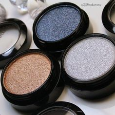 Sparkle, Neely, sparkle! 💎✨ Tough Luxe shadows from @markgirl go on wet or dry to deliver edgy metallic results to spice up any look 💣 Pictured in Gilt Complex, Midnight Madness and Scene Steeler! See this Instagram photo by @gsiproductions • 104 likes