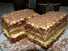 Dla osób lubiących krówki i orzechy :))) Polish Desserts, Polish Recipes, Polish Food, Sweet Recipes, Cake Recipes, Dessert Recipes, Different Cakes, How Sweet Eats, Savoury Cake