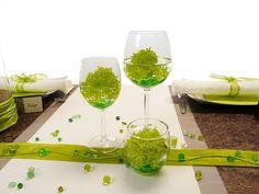 46 Besten Tischdekoration Grun Bilder Auf Pinterest Happy Colors