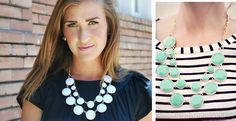 Double Drop Baublebox Statement Necklace! | Very Jane