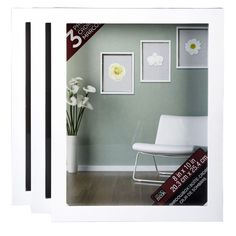 Studio Décor® Shadowbox, 3 Pack Showcase your favorite items as art. This value pack has three shadowboxes in it. Group them together to create a gallery look display on a wall or use them as a tabletop display.
