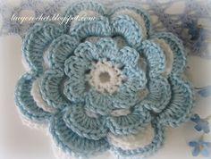 Crochet - Flowers - Free patterns - Printed