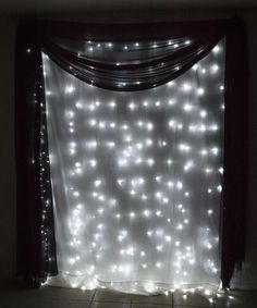 304 ct LED Curtain Fairy Lights 9.8 FT X 9.8 FT for  Weddings Christmas Holidays Parties Home Decor