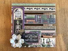 Graphic 45 Rare Oddities Palette Board.   https://www.etsy.com/shop/AllisonCraftland