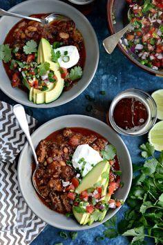 Ancho Chorizo Chili l SimplyScratch.com