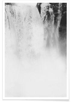 Landscape No. 25 als Premium Poster von typealive | JUNIQE