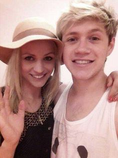 Niall with a fan, love his smile in this one!
