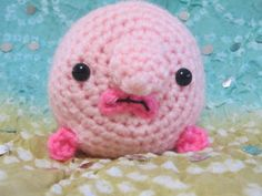 Blobfish Amigurumi by TiffAmis5 | Crocheting Pattern - Looking for your next project? You're going to love Blobfish Amigurumi by designer TiffAmis5. - via @Craftsy