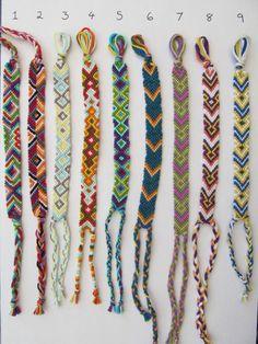 Friendship Embroidery Bracelets Woven Friendship Bracelet - Handmade colorful diamond, arrowhead and triangle bracelets Thread Bracelets, Embroidery Bracelets, Macrame Bracelets, Handmade Bracelets, Diy Bracelets With String, Braclets Diy, Macrame Knots, Loom Bracelets, Micro Macrame