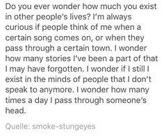 I really wonder..