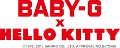 BABY-G × HELLO KITTY © 1976, 2016 SANRIO CO., LTD. APPROVAL NO.S572498