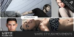 After Effects Project Files - White Stylish Movements | VideoHive