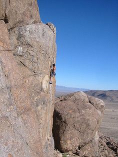 Joshua Tree National Park is a world-class climbing spot two hours east of L.A. and is an ideal location with its mild temperatures and thousands of routes.