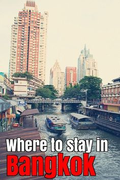 Best areas to stay in Bangkok http://mel365.com/where-to-stay-in-bangkok/